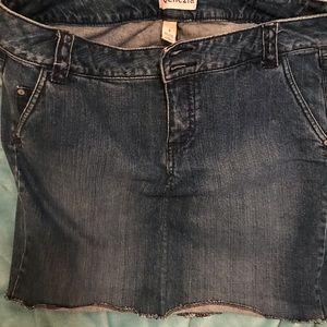 Bluejeans skirt